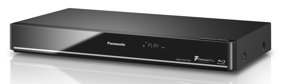 Panasonic Dmr Pwt550 Smart 3d Blu Ray Player Freeview Play