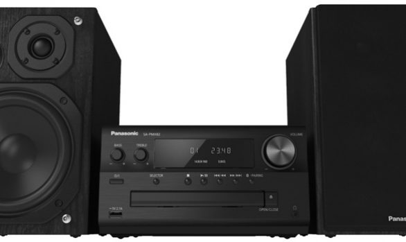 Panasonic SC-PMX82 Audio System CD/Tuner/Amplifier with Speakers