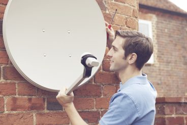 Satellite, Aerial, Cable or Network Install